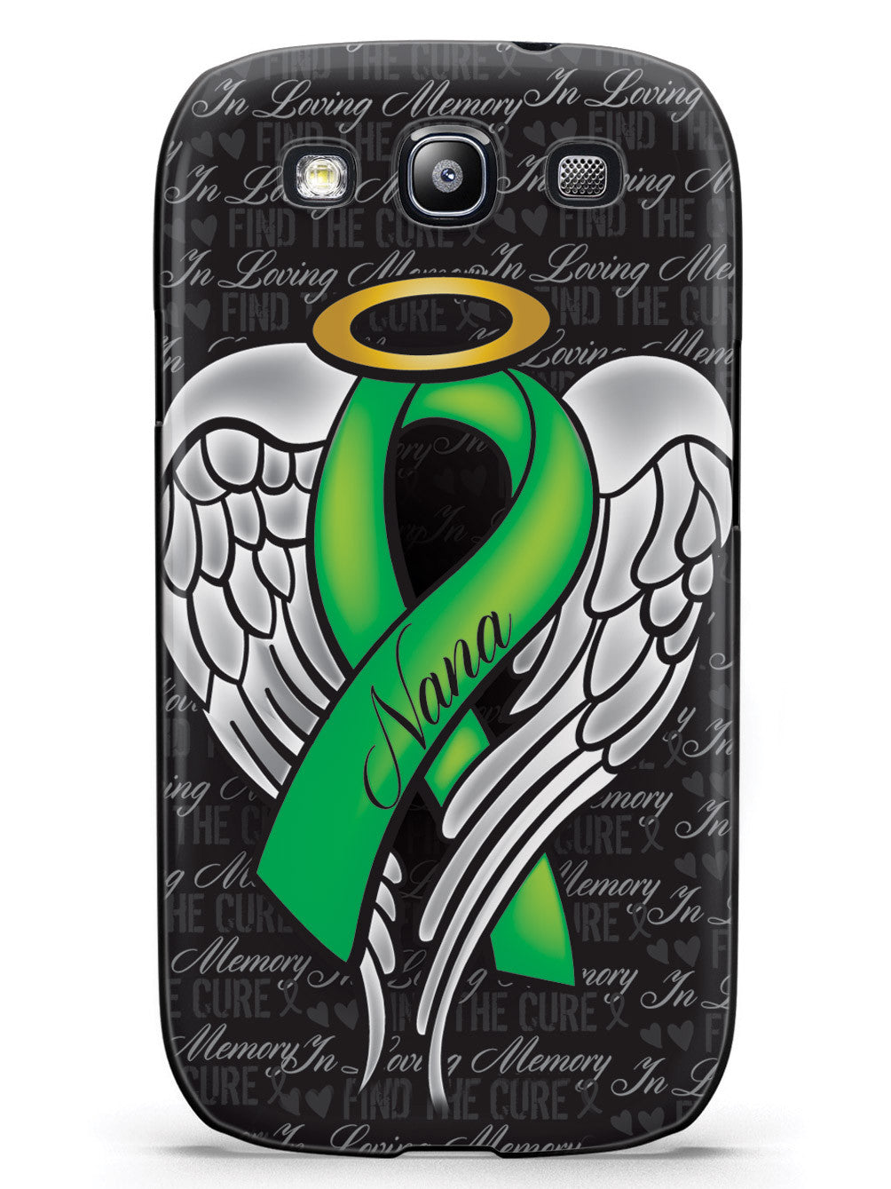 In Loving Memory of My Nana - Green Ribbon Case