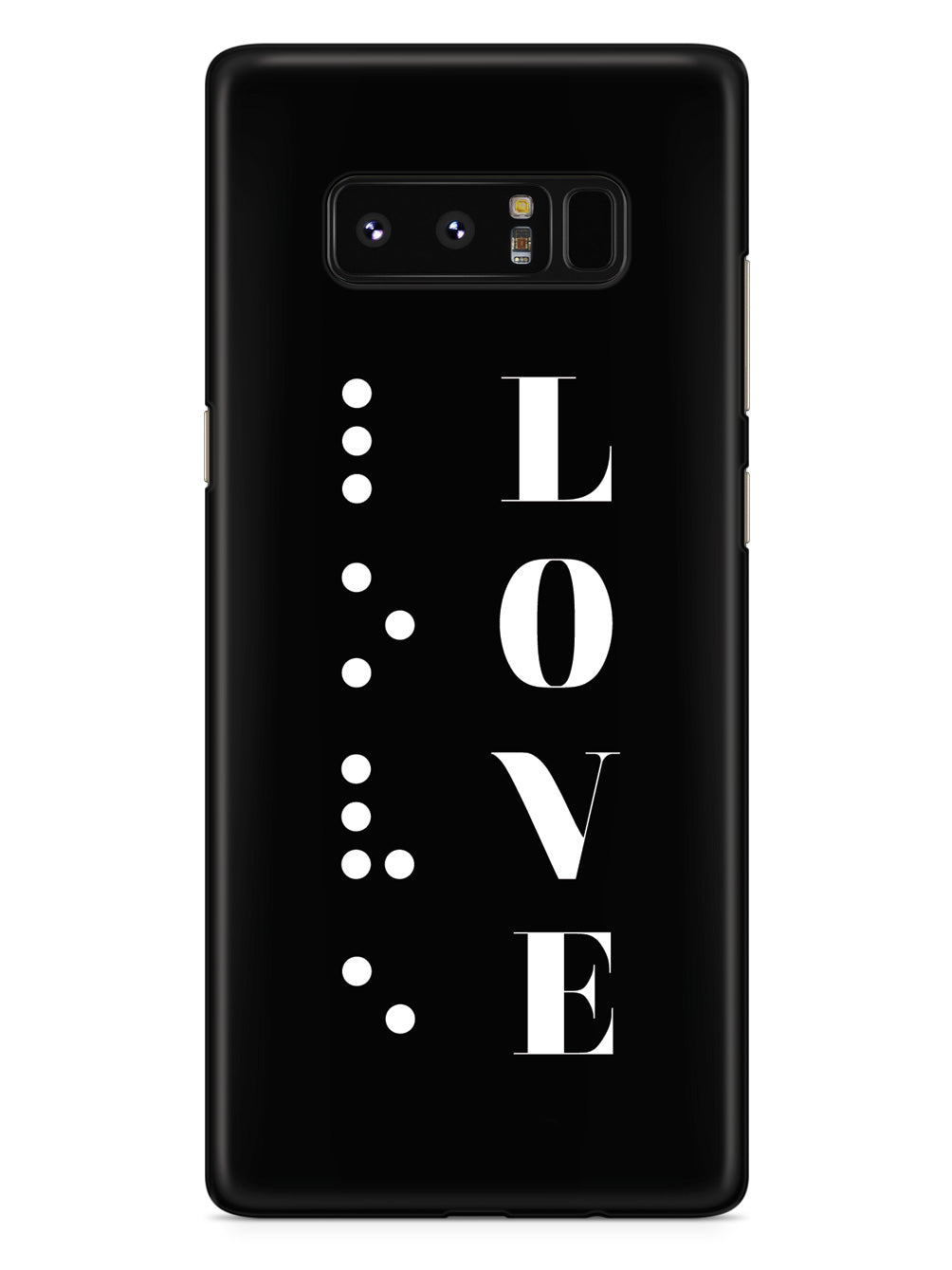 Love in Braille Case