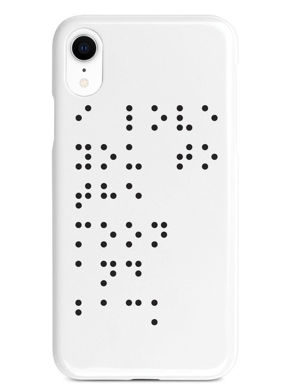 I Love You To The Moon and Back - Braille - White Case