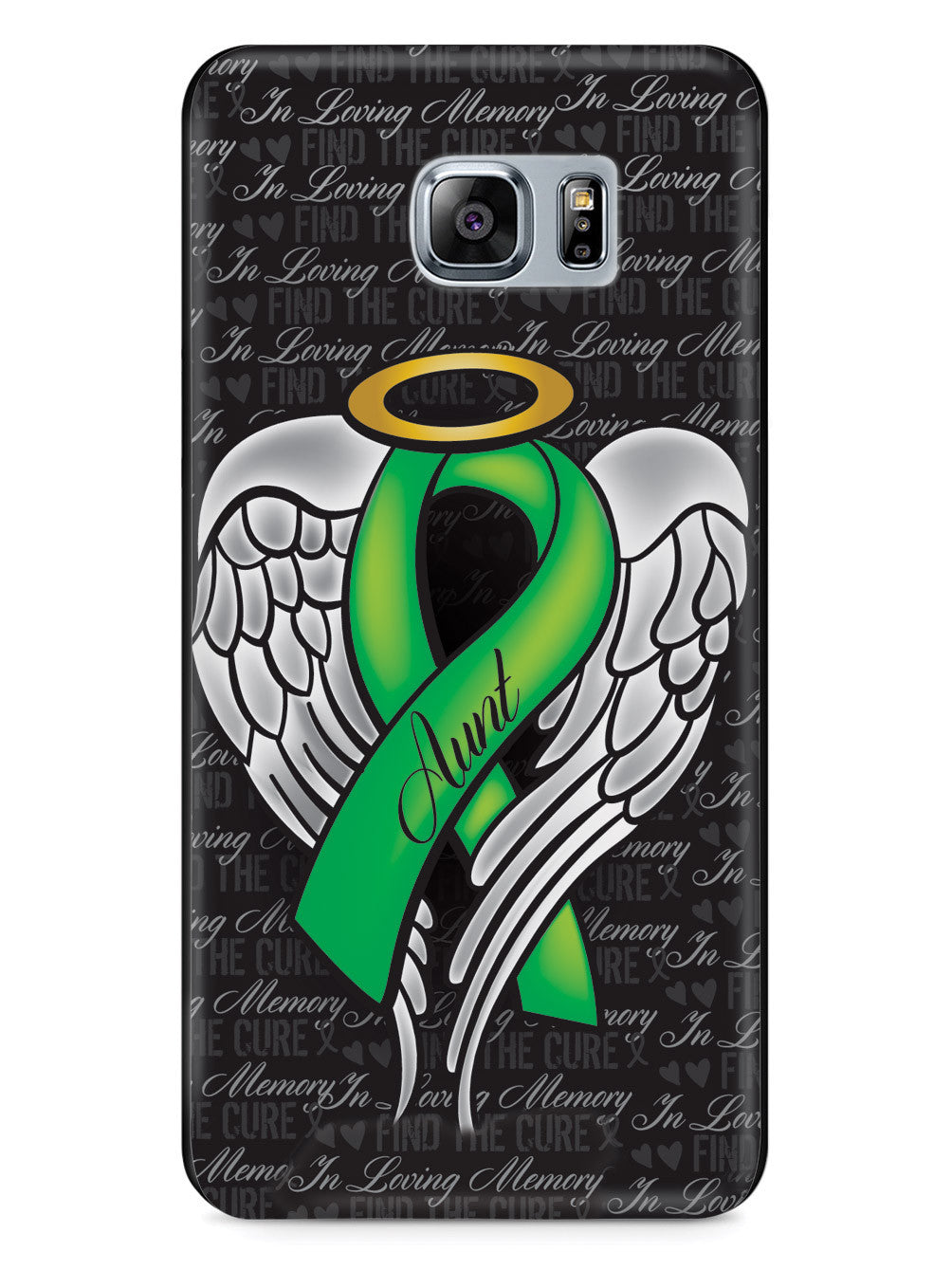 In Loving Memory of My Aunt - Green Ribbon Case