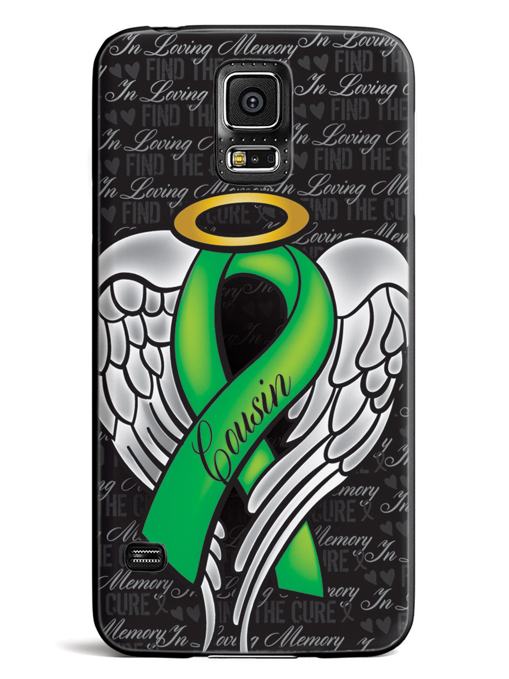 In Loving Memory of My Cousin - Green Ribbon Case