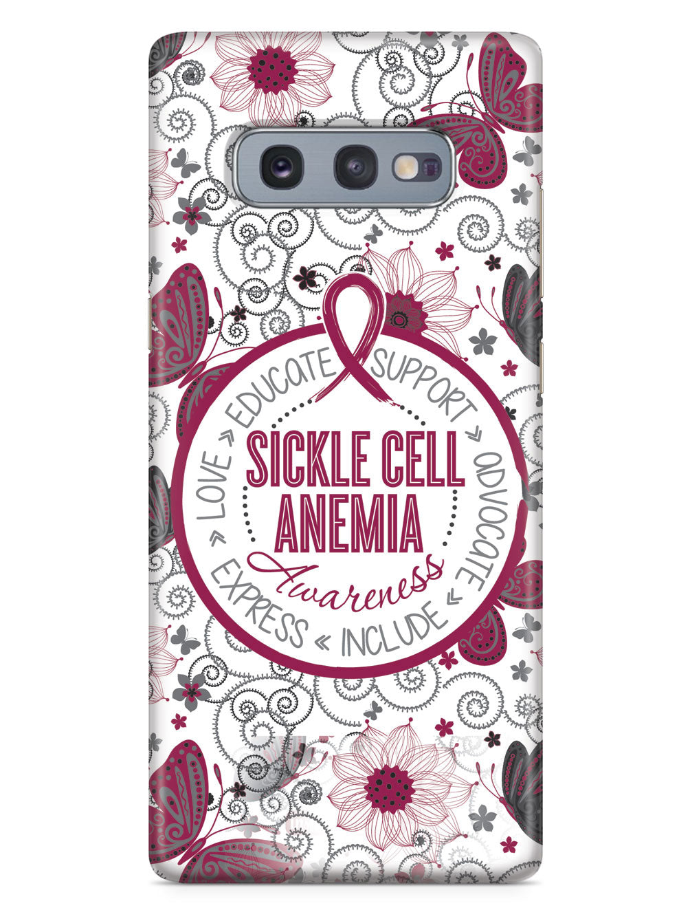 Sickle Cell Anemia - Butterfly Pattern Case