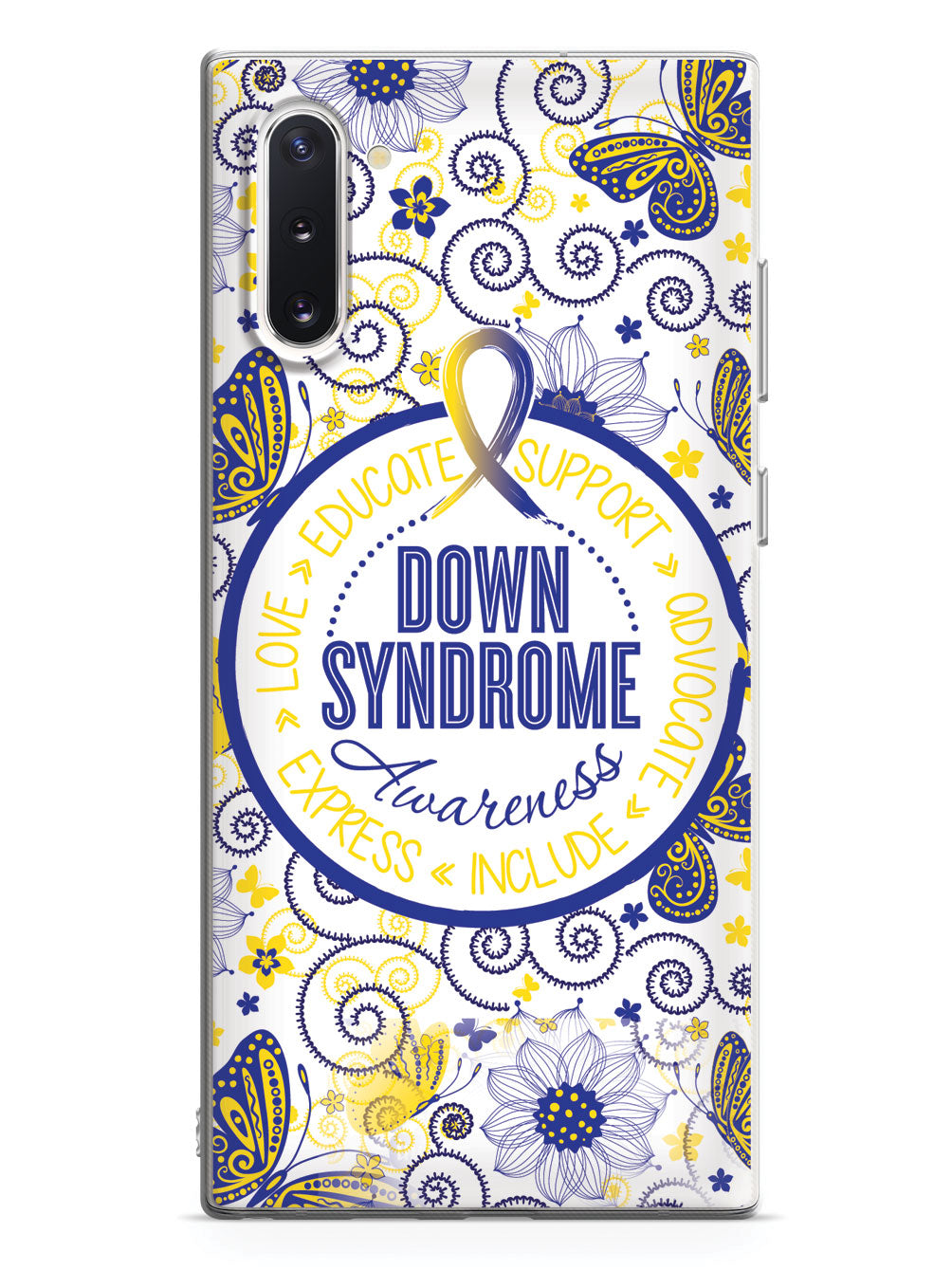 Down Syndrome Awareness - Butterfly Pattern Case