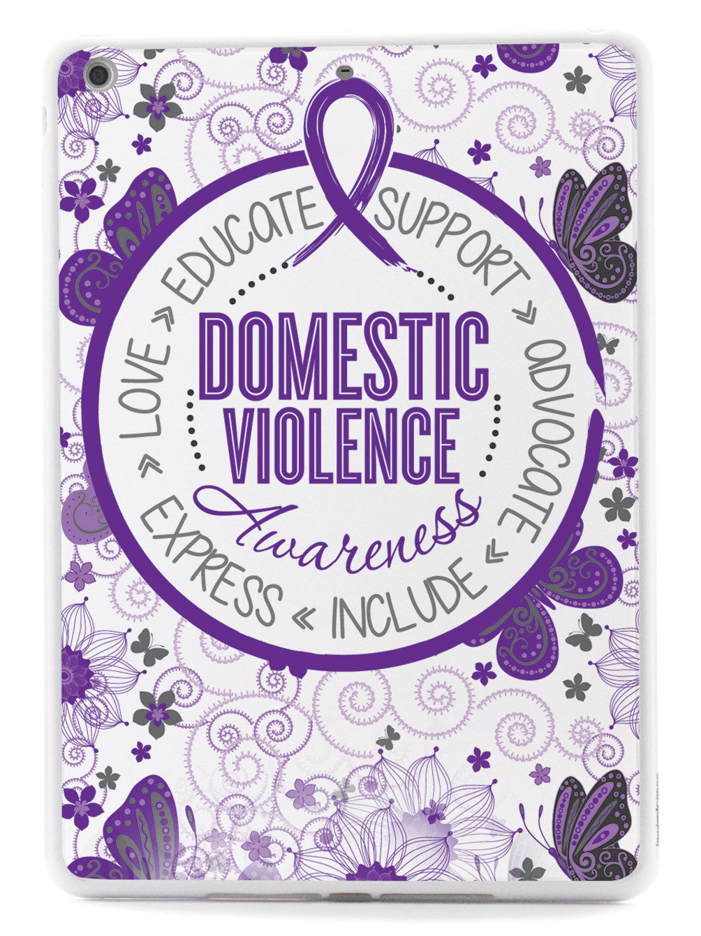 Domestic Violence - Butterfly Pattern Case