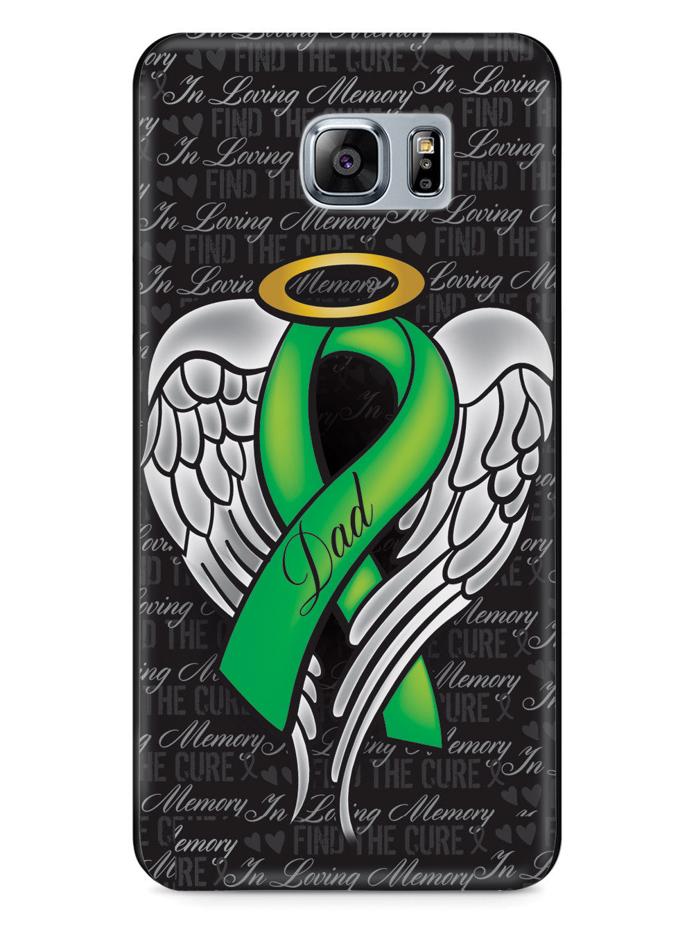 In Loving Memory of My Dad - Green Ribbon Case