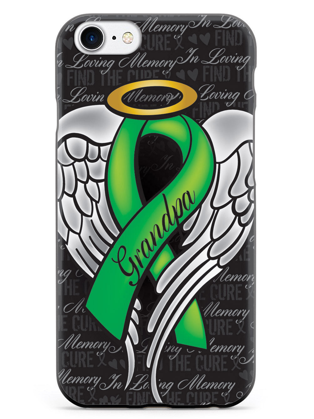 In Loving Memory of My Grandpa - Green Ribbon Case