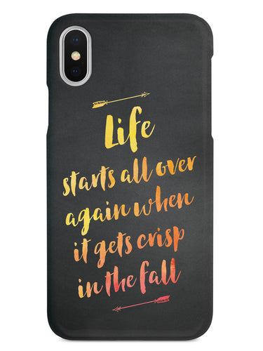 Life Starts All Over Again Case