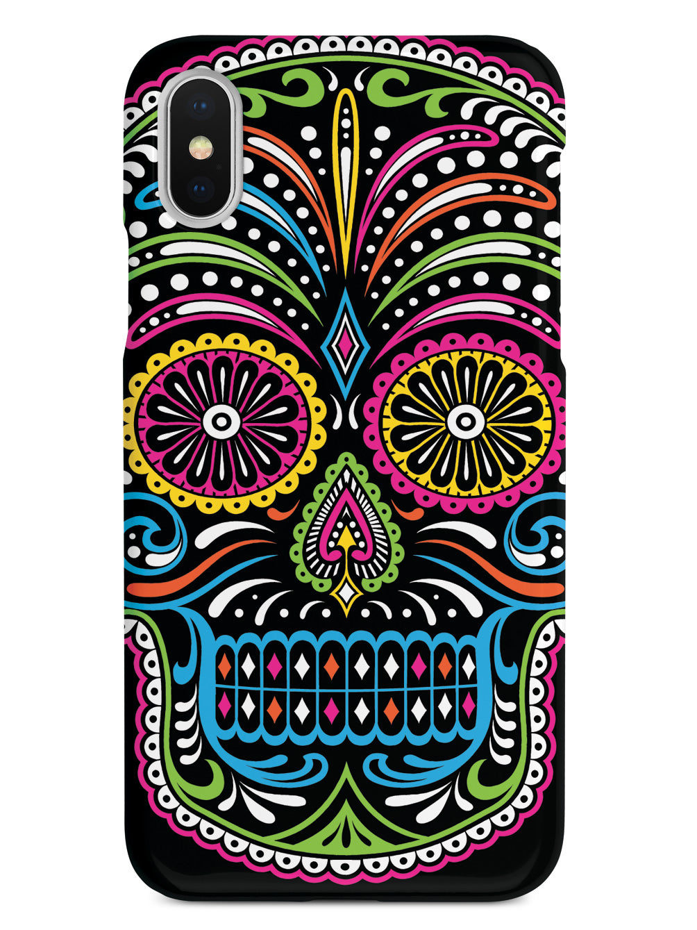 Ornate Sugar Skull Case