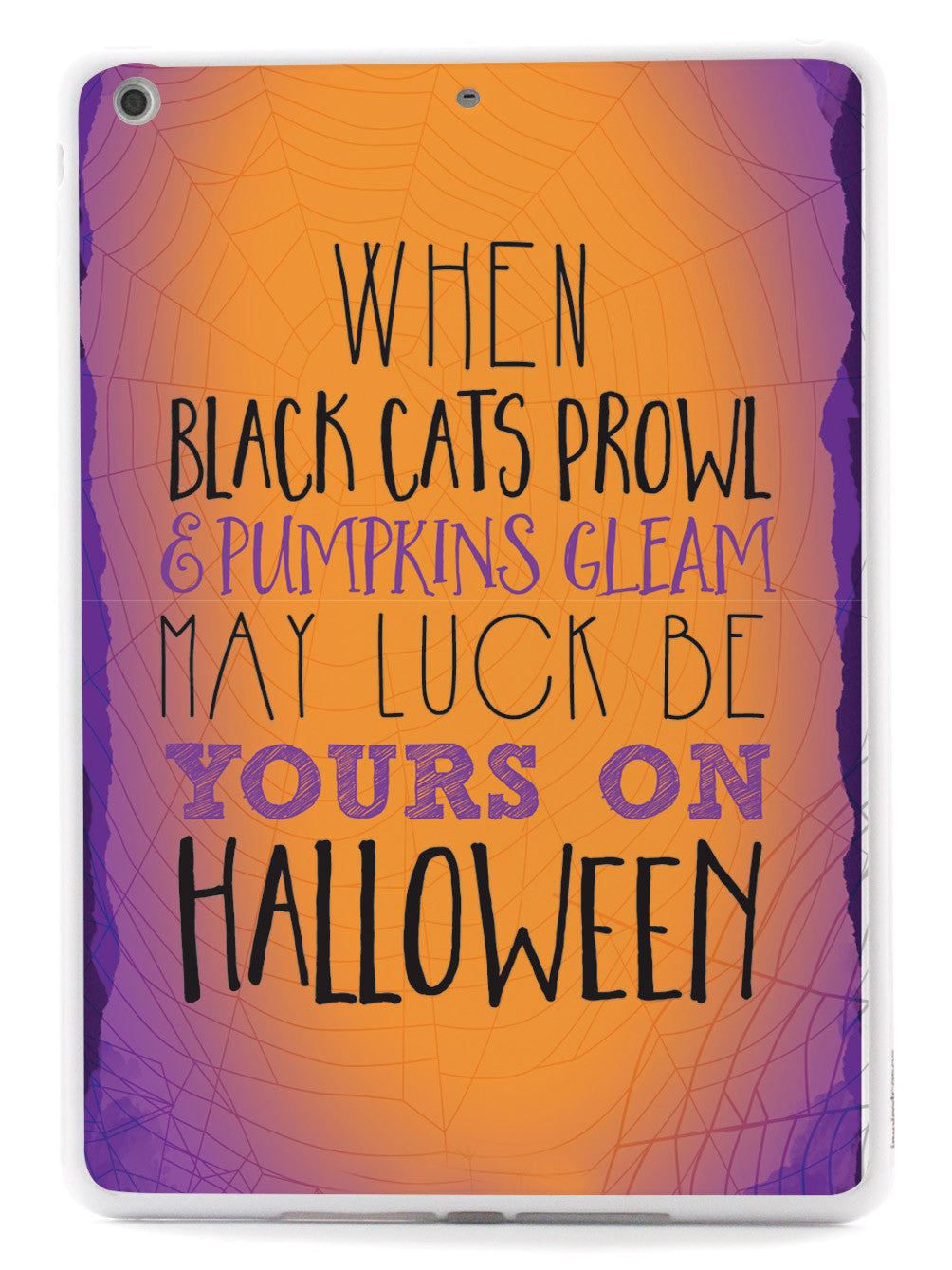 Black Cats Prowl and Pumpkins Gleam  Case