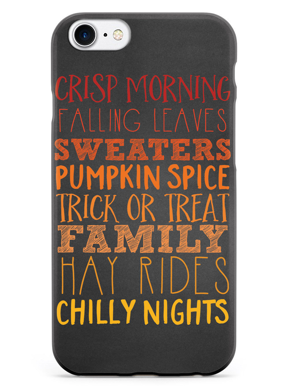 Fall Words Case