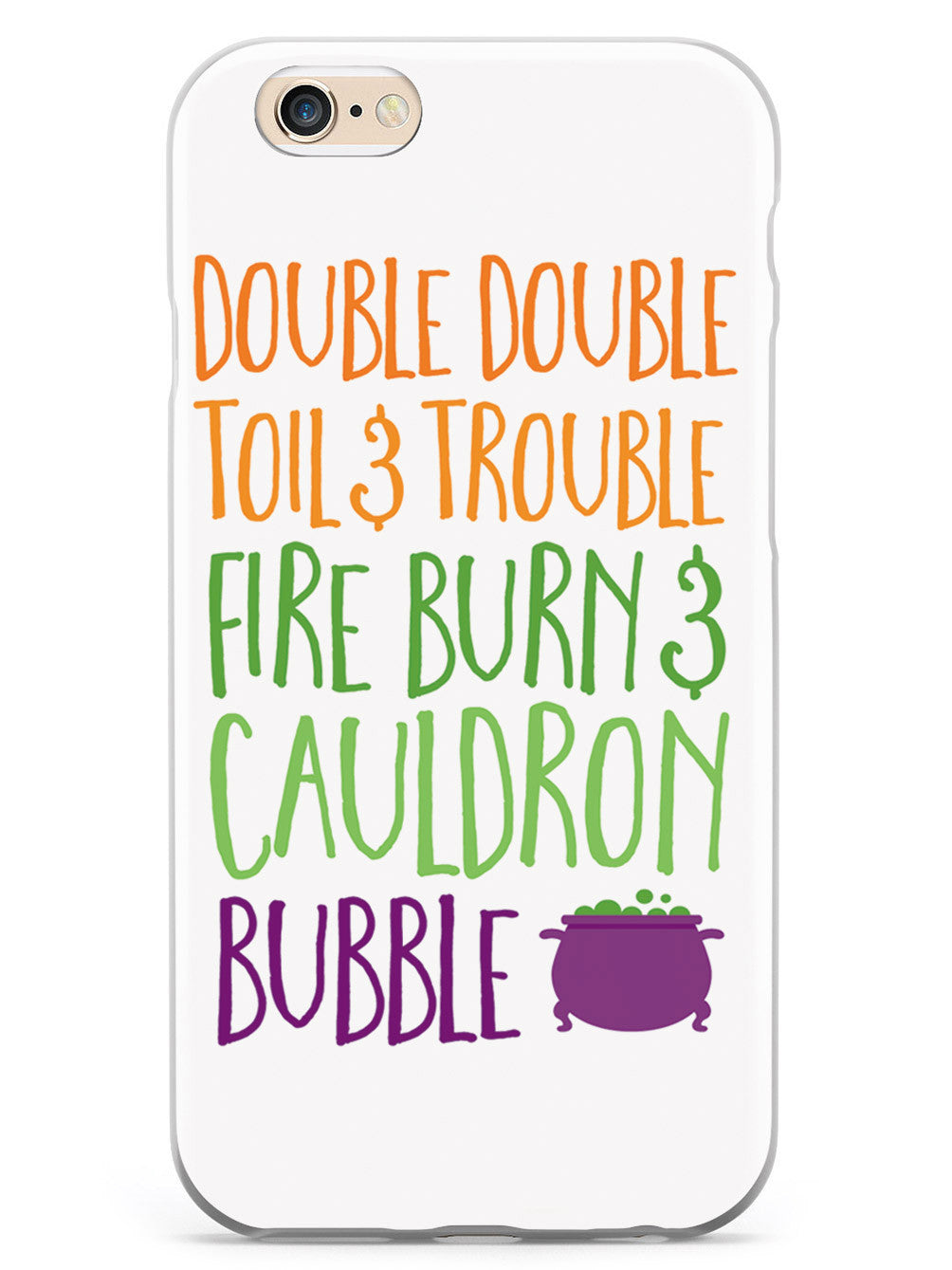 Double Double, Toil and Trouble Case