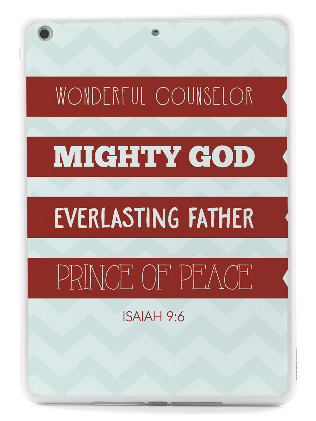 Isaiah 9:6 Bible Verse Quote Case