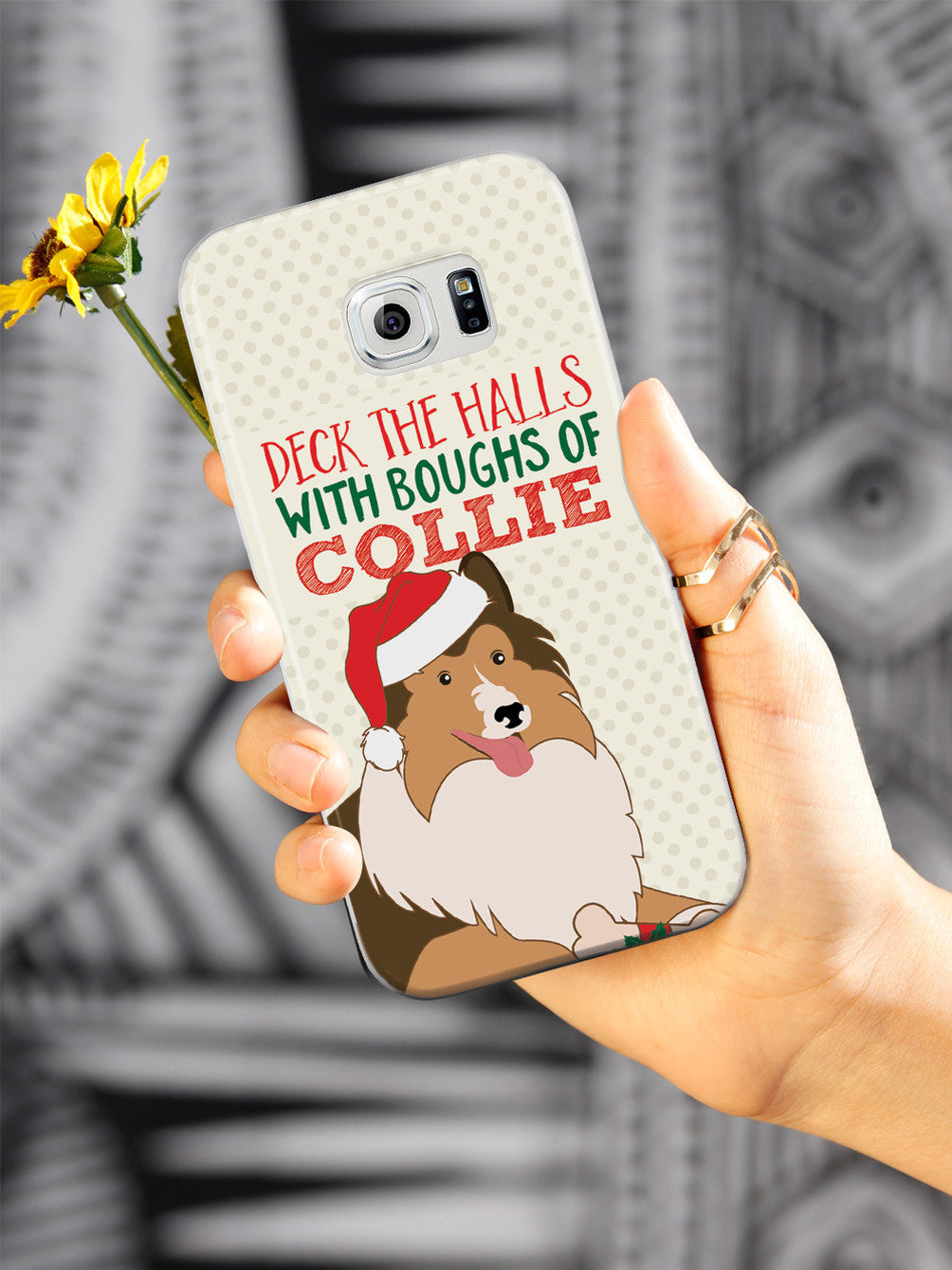 Deck The Halls With Boughs of Collie - Christmas Case