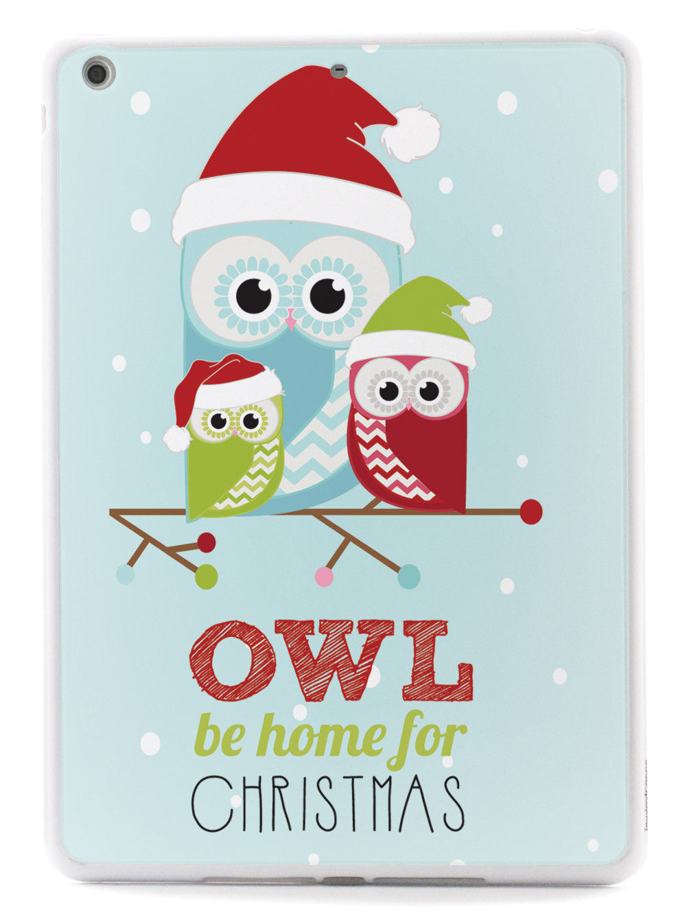 Owl Be Home For Christmas Case