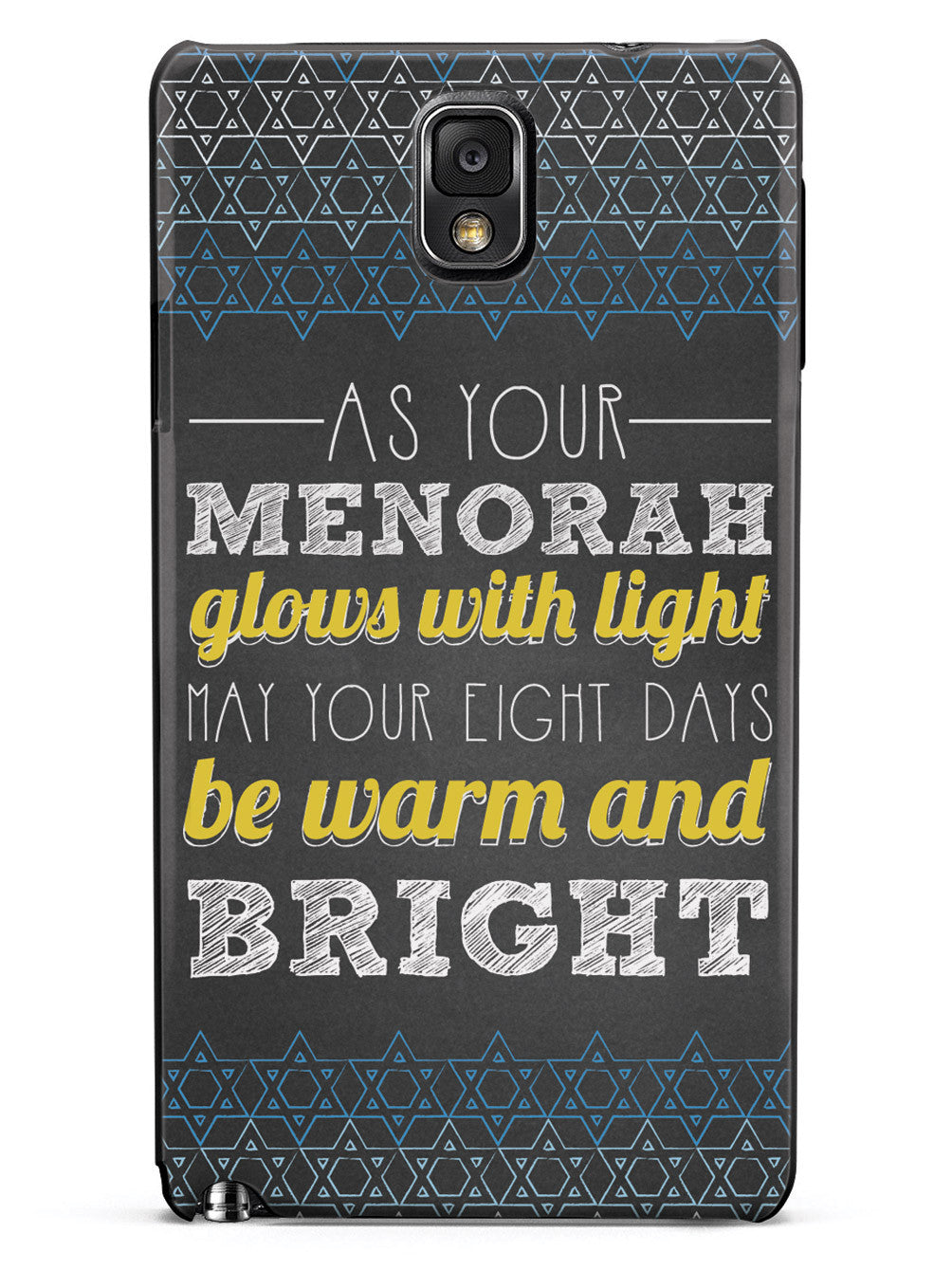 May Your Eight Days Be Warm and Bright - Hanukkah Case