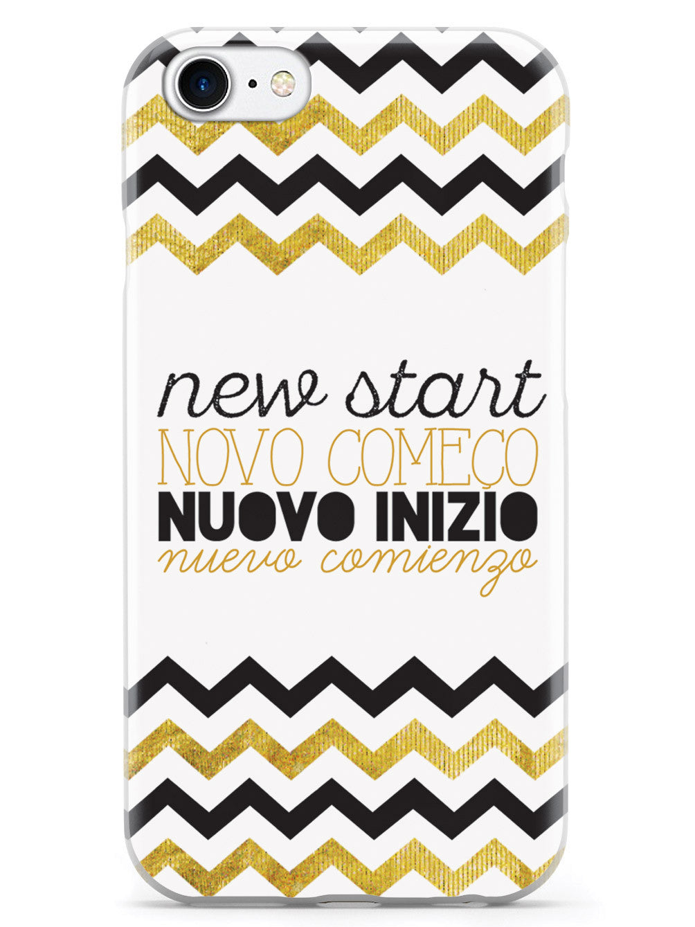 New Start - Chevron Pattern Case