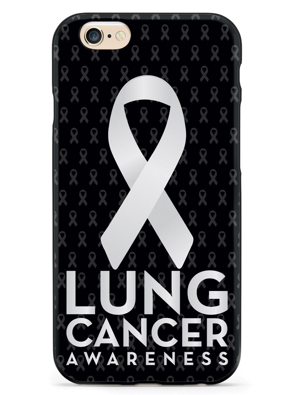 Lung Cancer Awareness - Black Case