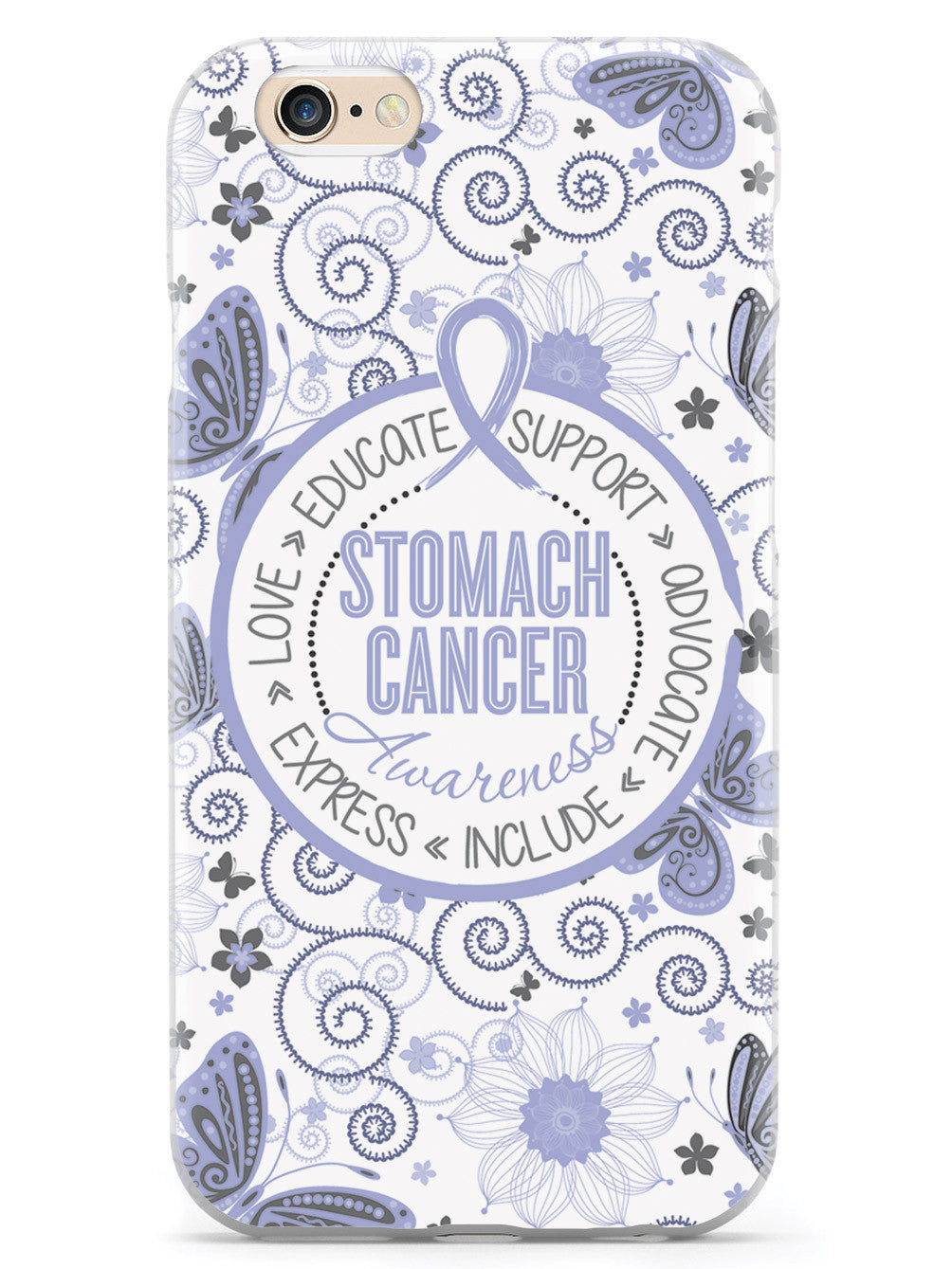 Stomach Cancer - Butterfly Pattern Case