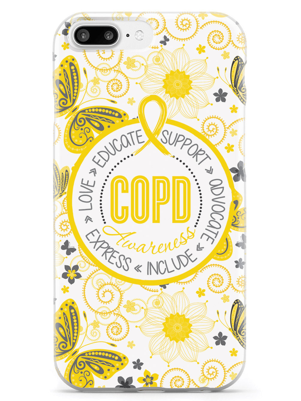 COPD - Butterfly Pattern Case