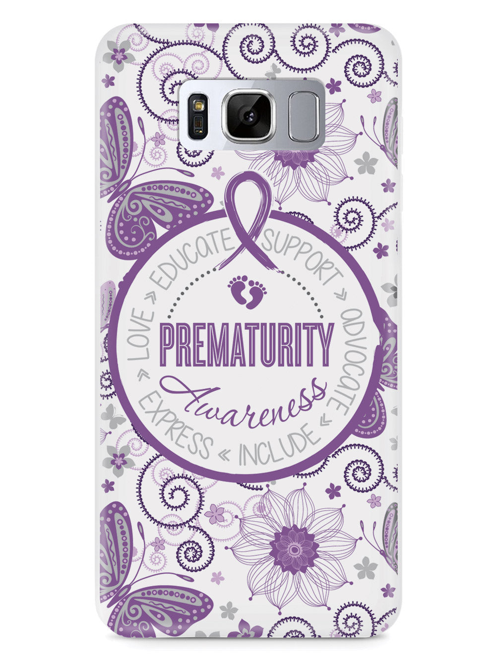 Prematurity - Butterfly Pattern Case