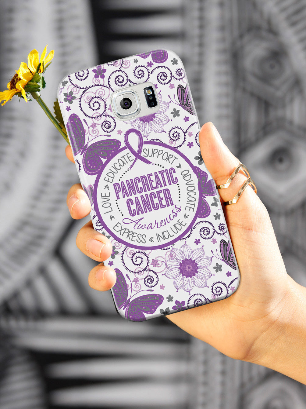 Pancreatic Cancer - Butterfly Pattern Case