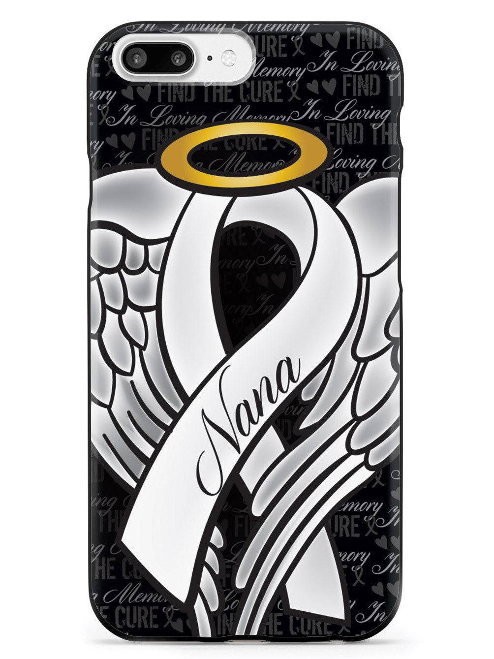 In Loving Memory of My Nana - White Ribbon Case
