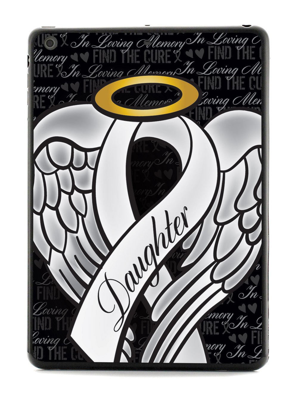 In Loving Memory of My Daughter - White Ribbon Case
