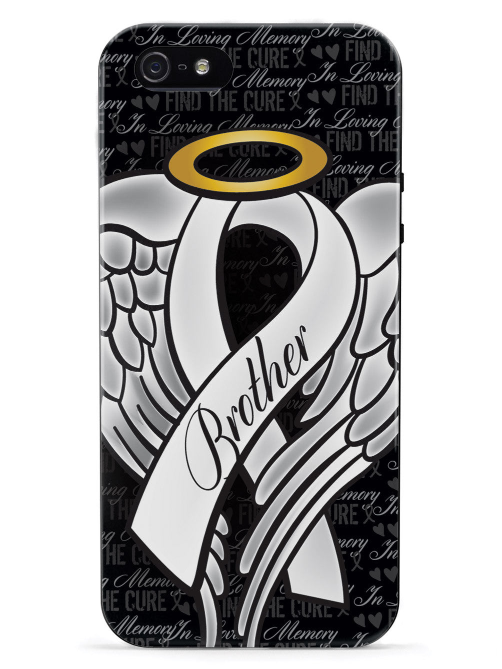 In Loving Memory of My Brother - White Ribbon Case