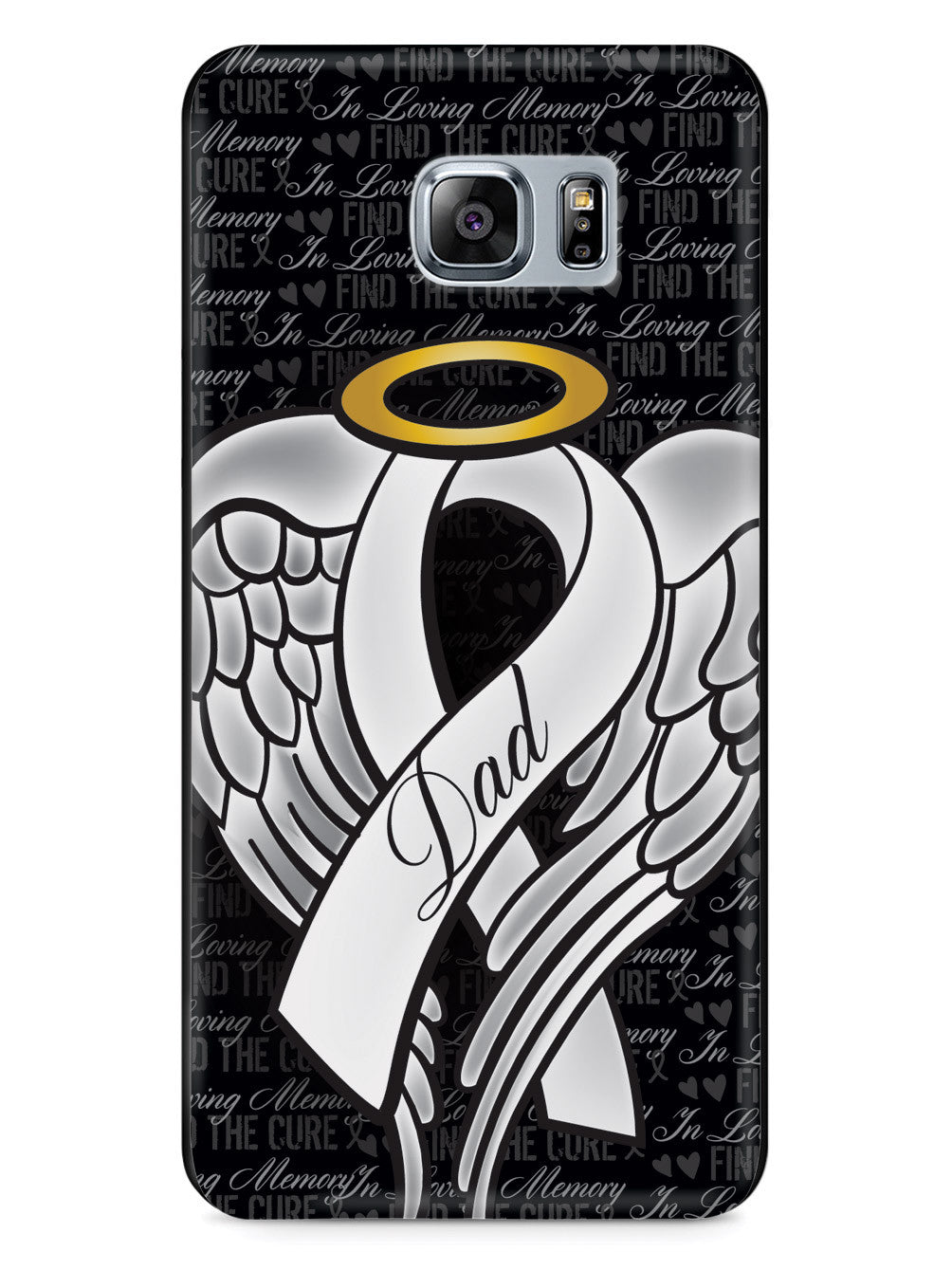 In Loving Memory of My Dad - White Ribbon Case