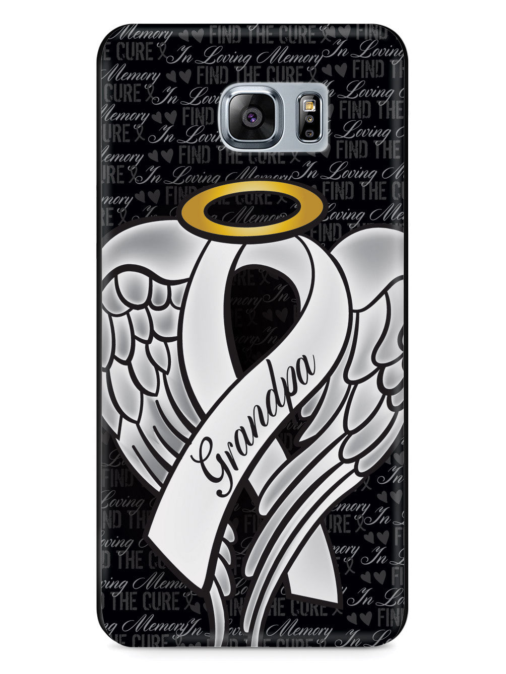 In Loving Memory of My Grandpa - White Ribbon Case