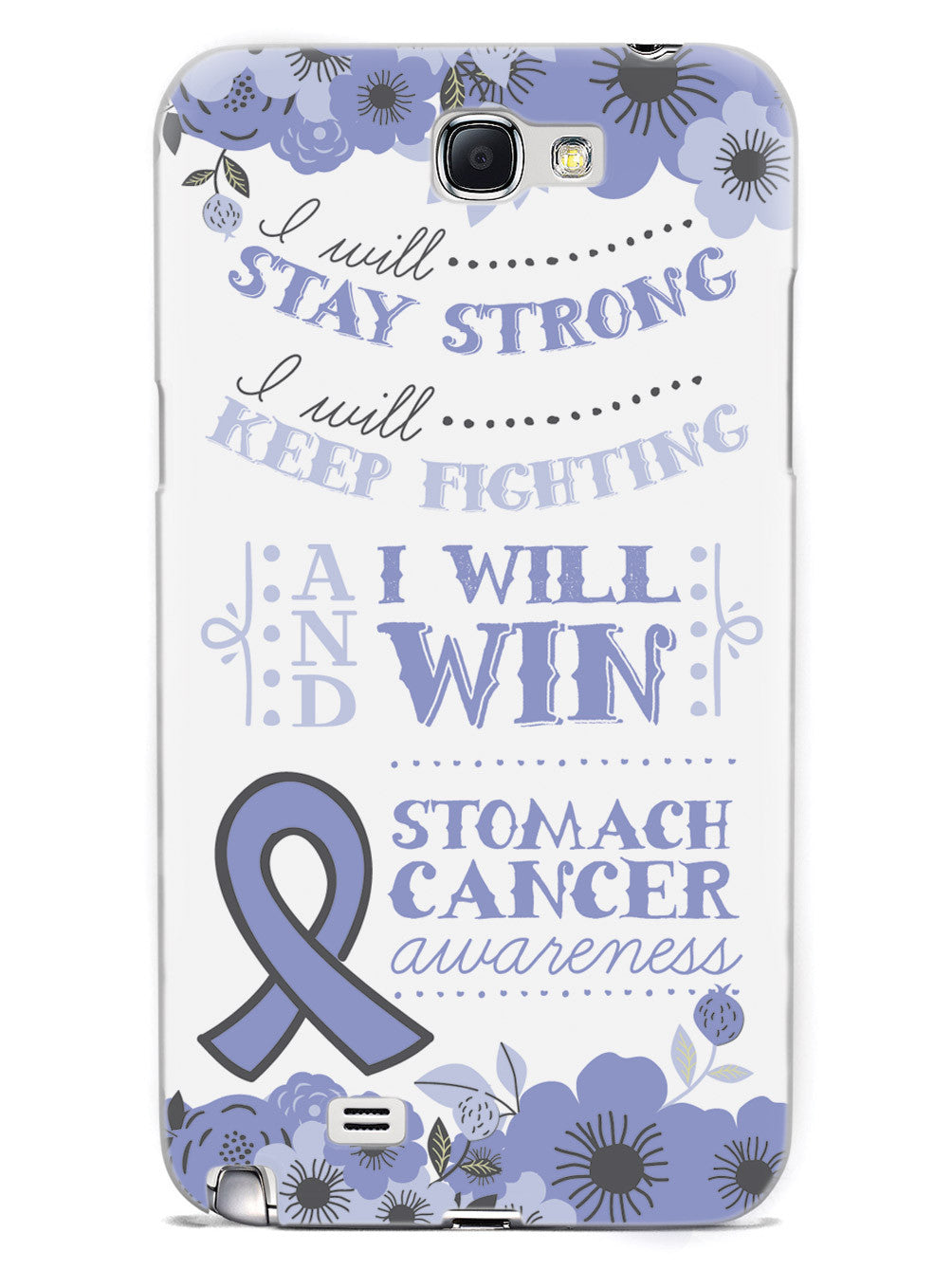 I Will Win - Stomach Cancer Awareness Case