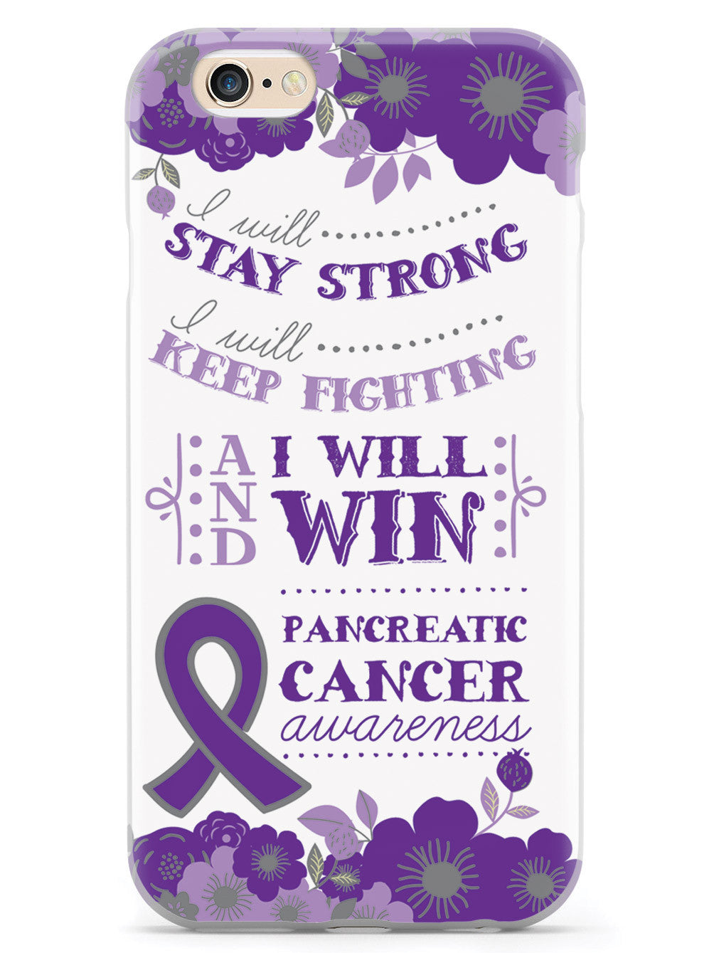 I Will Win - Pancreatic Cancer Awareness Case
