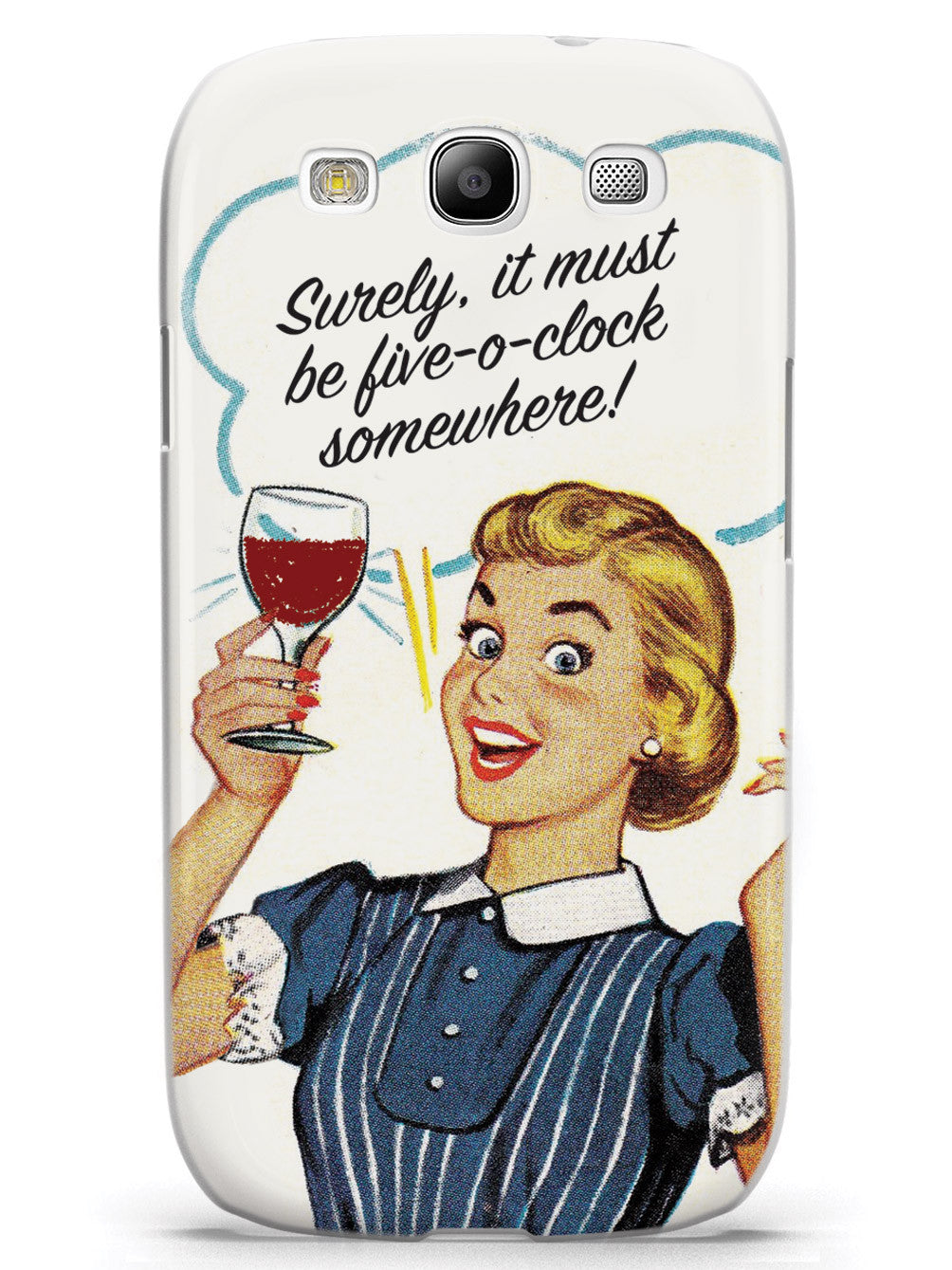 Five-O-Clock Somewhere - Retro Housewife Case
