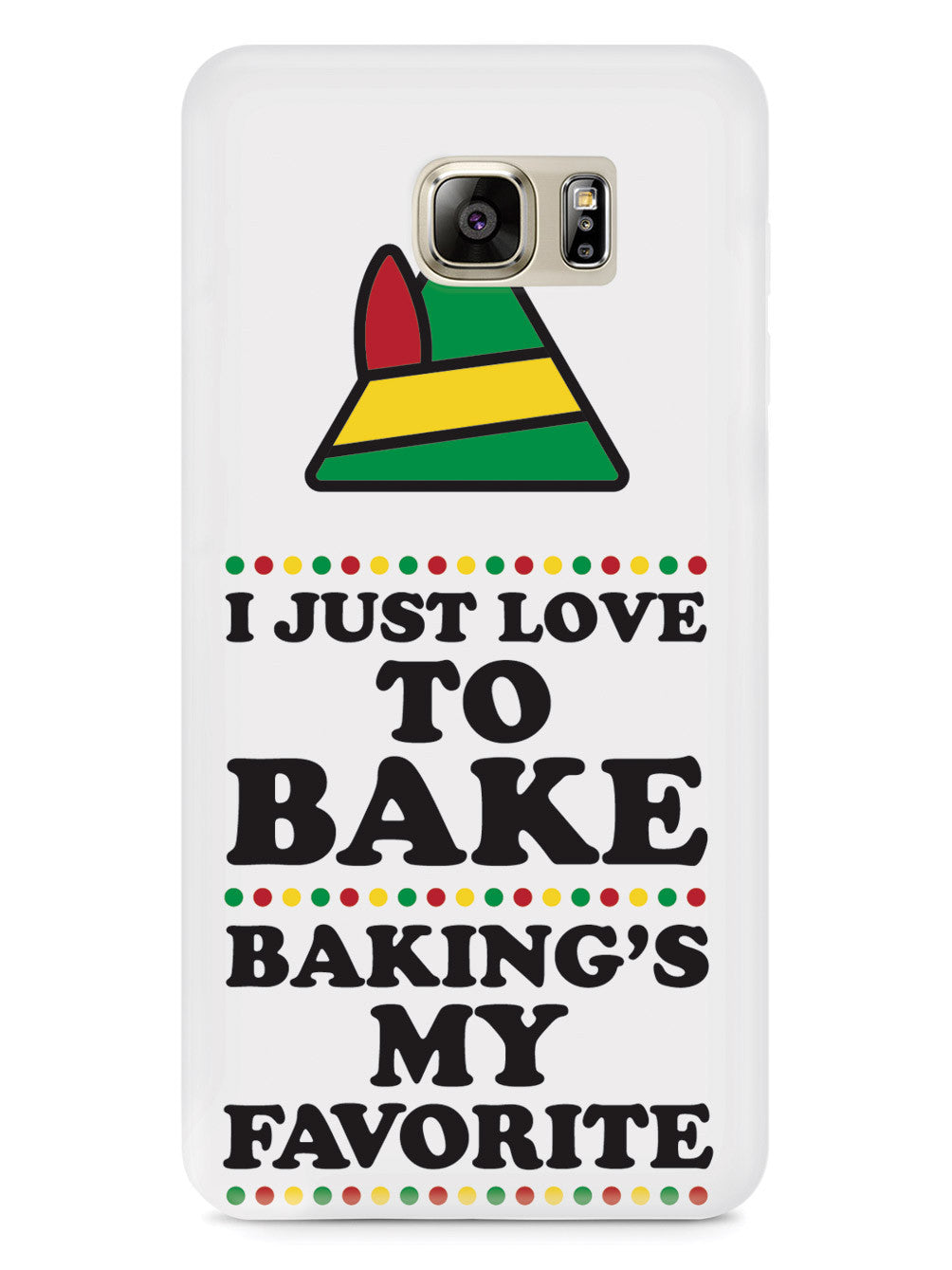 I Just Love To Bake - Christmas Elf Case