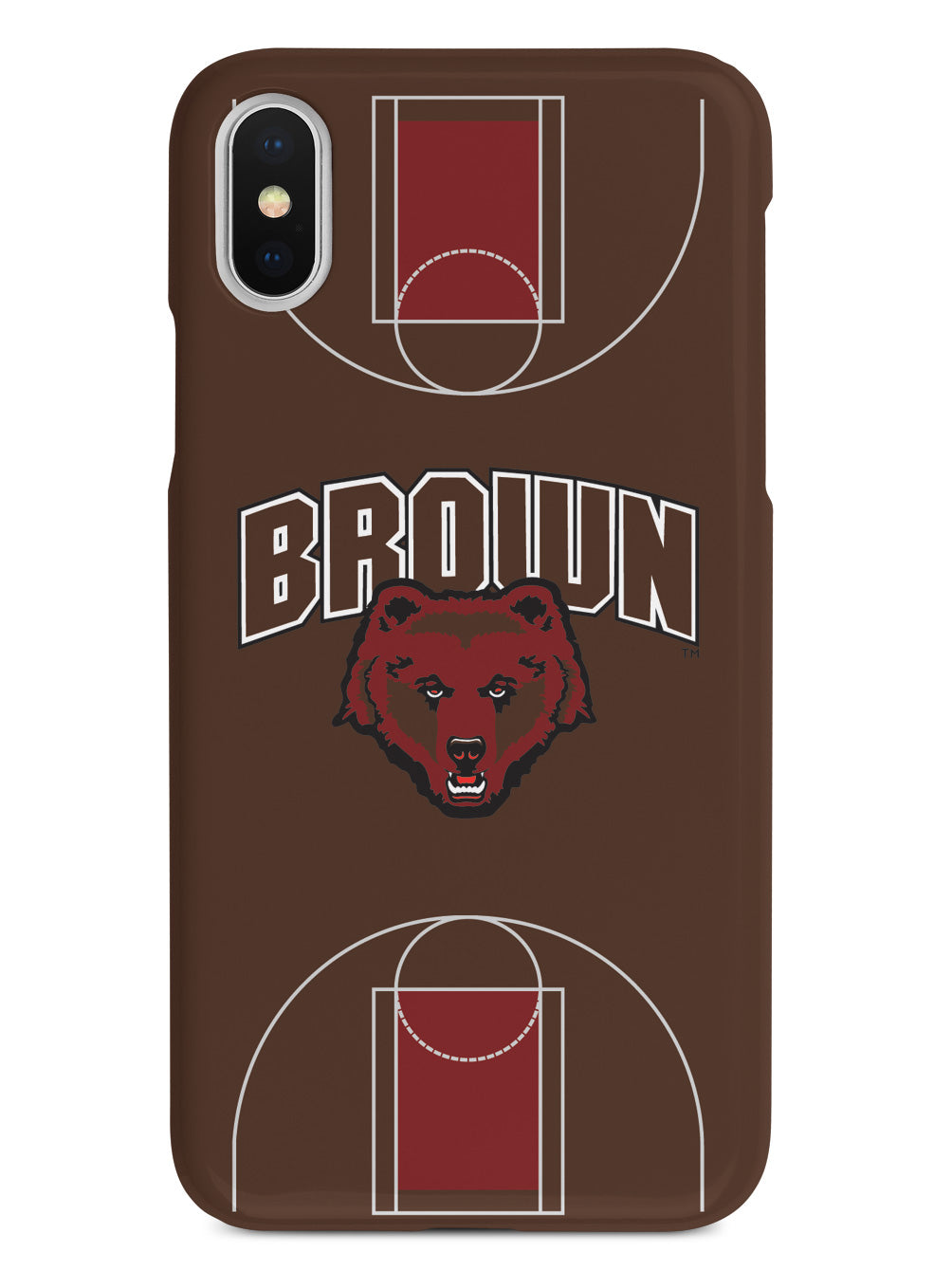 Brown University Bears - Basketball Court Case