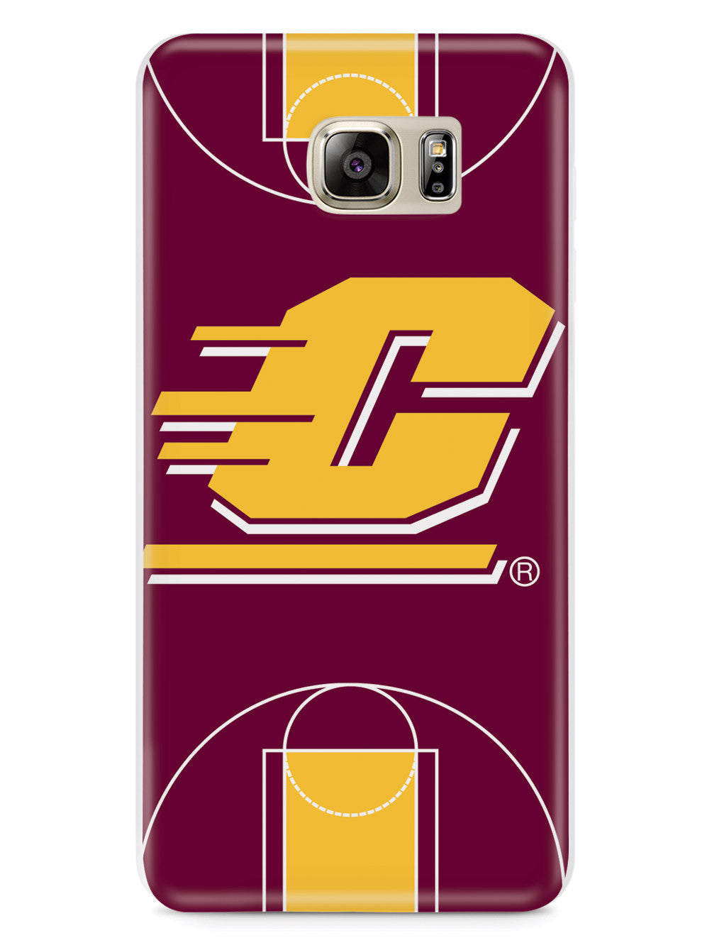 Central Michigan Chippewas - Basketball Court Case