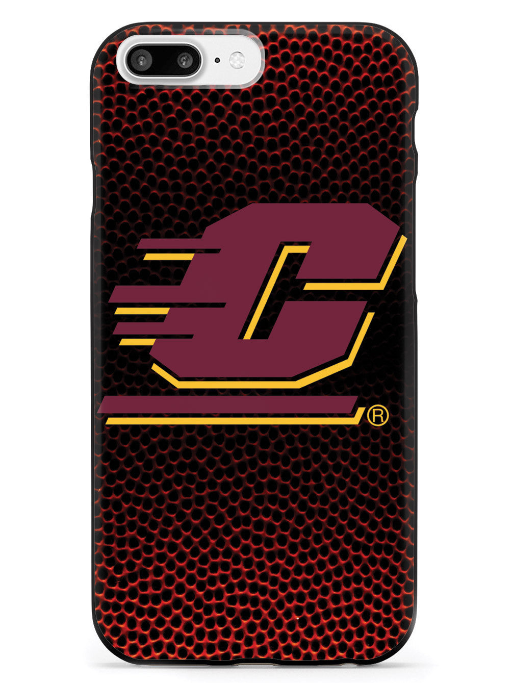 Central Michigan University - Textured Basketball Case