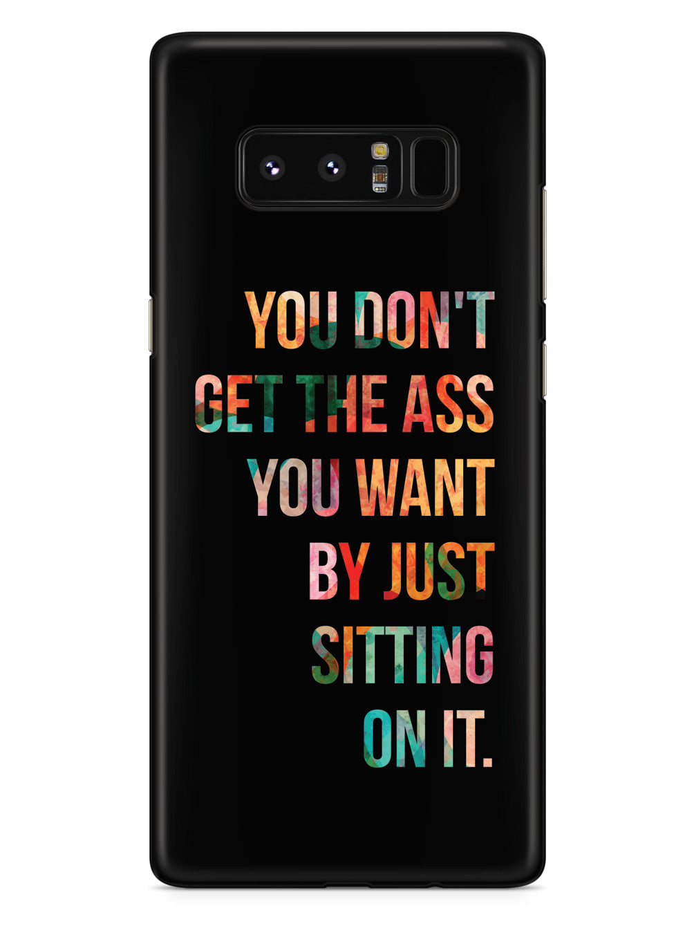 The Ass You Want - Fitness Case