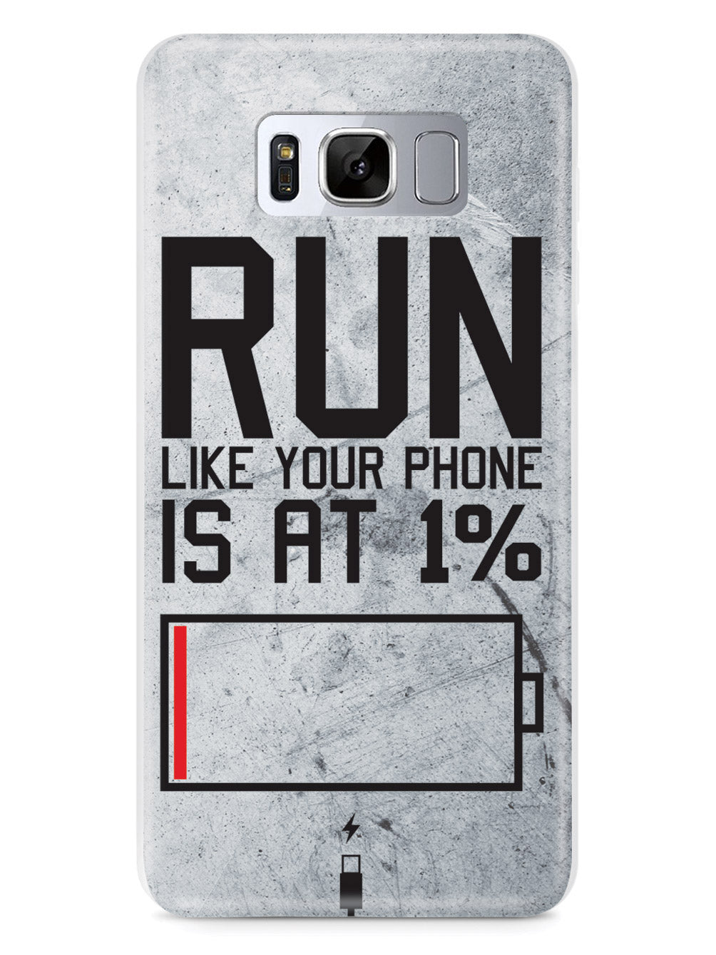 Run Like Your Phone Is At 1% - Fitness Case