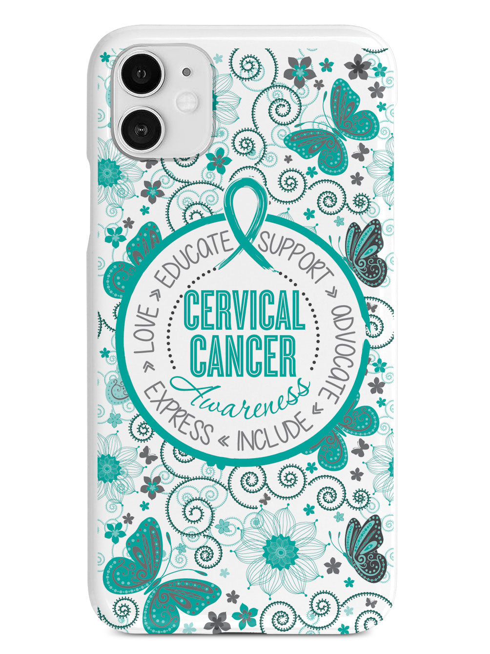Cervical Cancer - Butterfly Pattern Case
