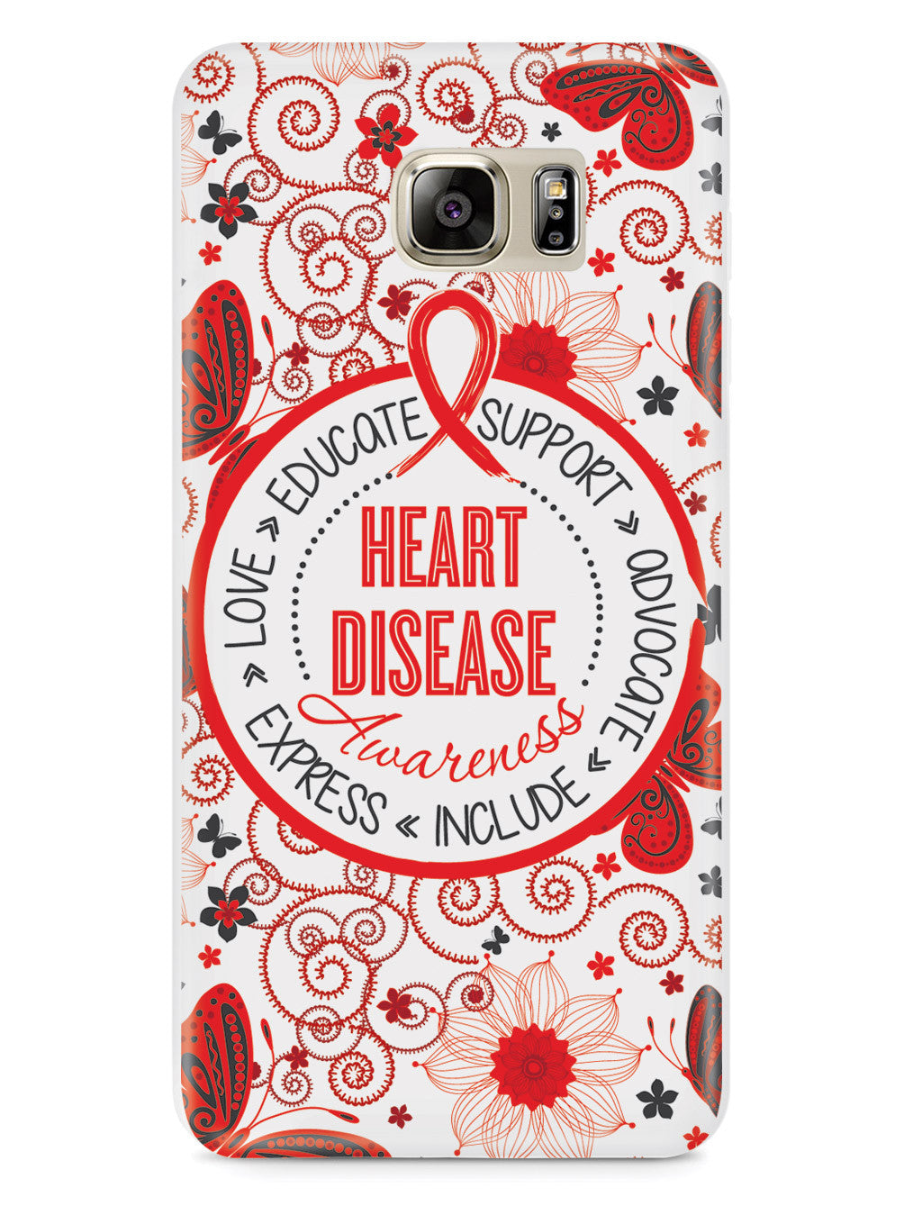 Heart Disease - Butterfly Pattern Case