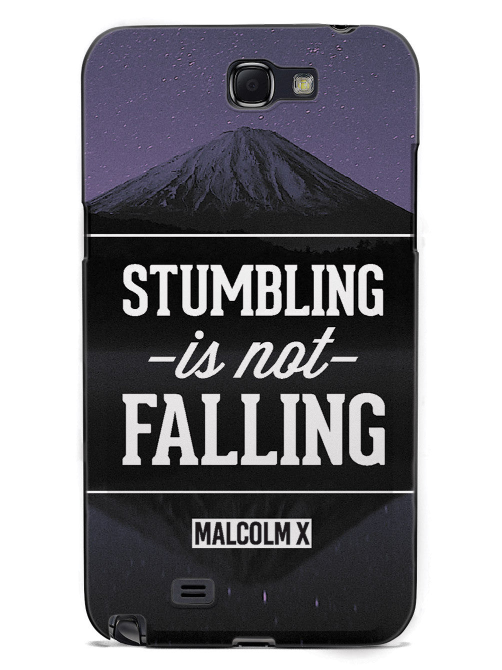 Stumbling Is Not Falling - Malcom X Case
