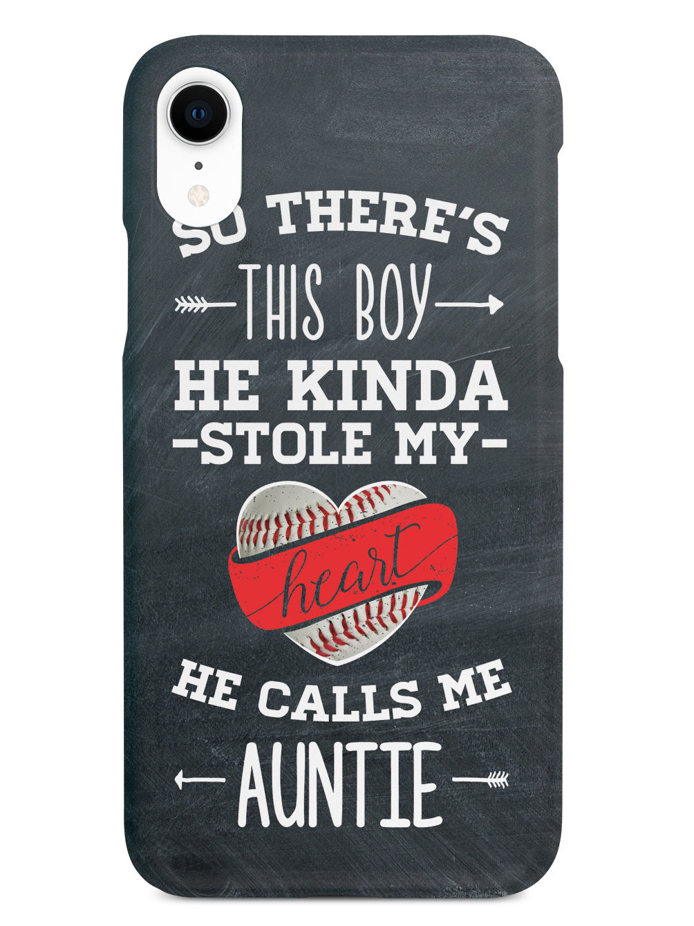 So There's This Boy... Baseball Player - Auntie Case