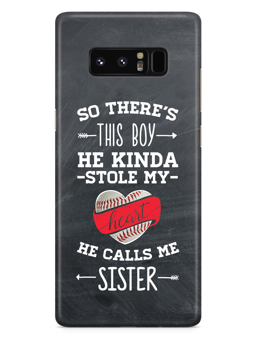So There's This Boy... Baseball Player - Sister Case