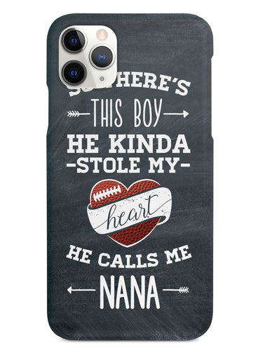 So there's this Boy - Football Player - Nana Case