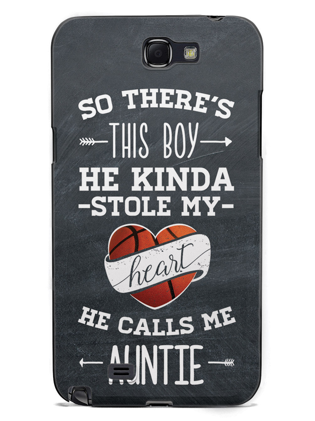 So there's this Boy - Basketball Player - Auntie Case