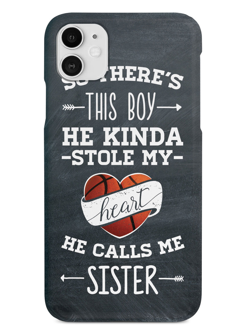 So there's this Boy - Basketball Player - Sister Case