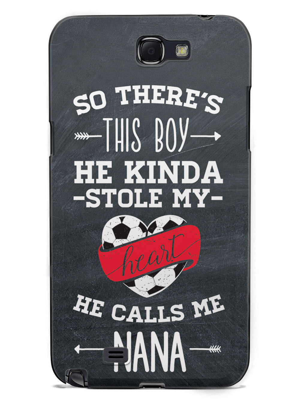 So there's this Boy - Soccer Player - Nana Case