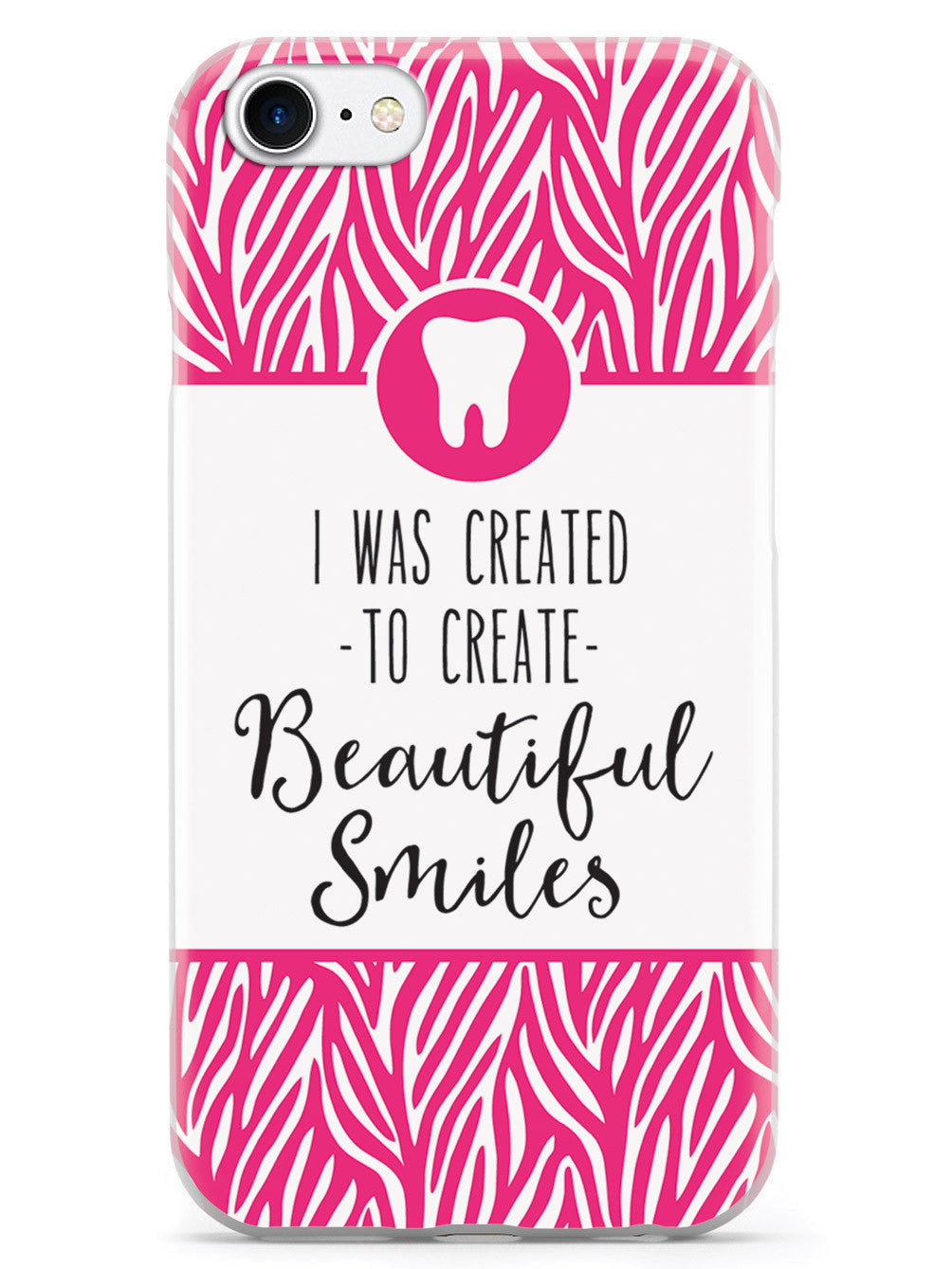 Created To Make Beautiful Smiles - Dental Hygienist Case
