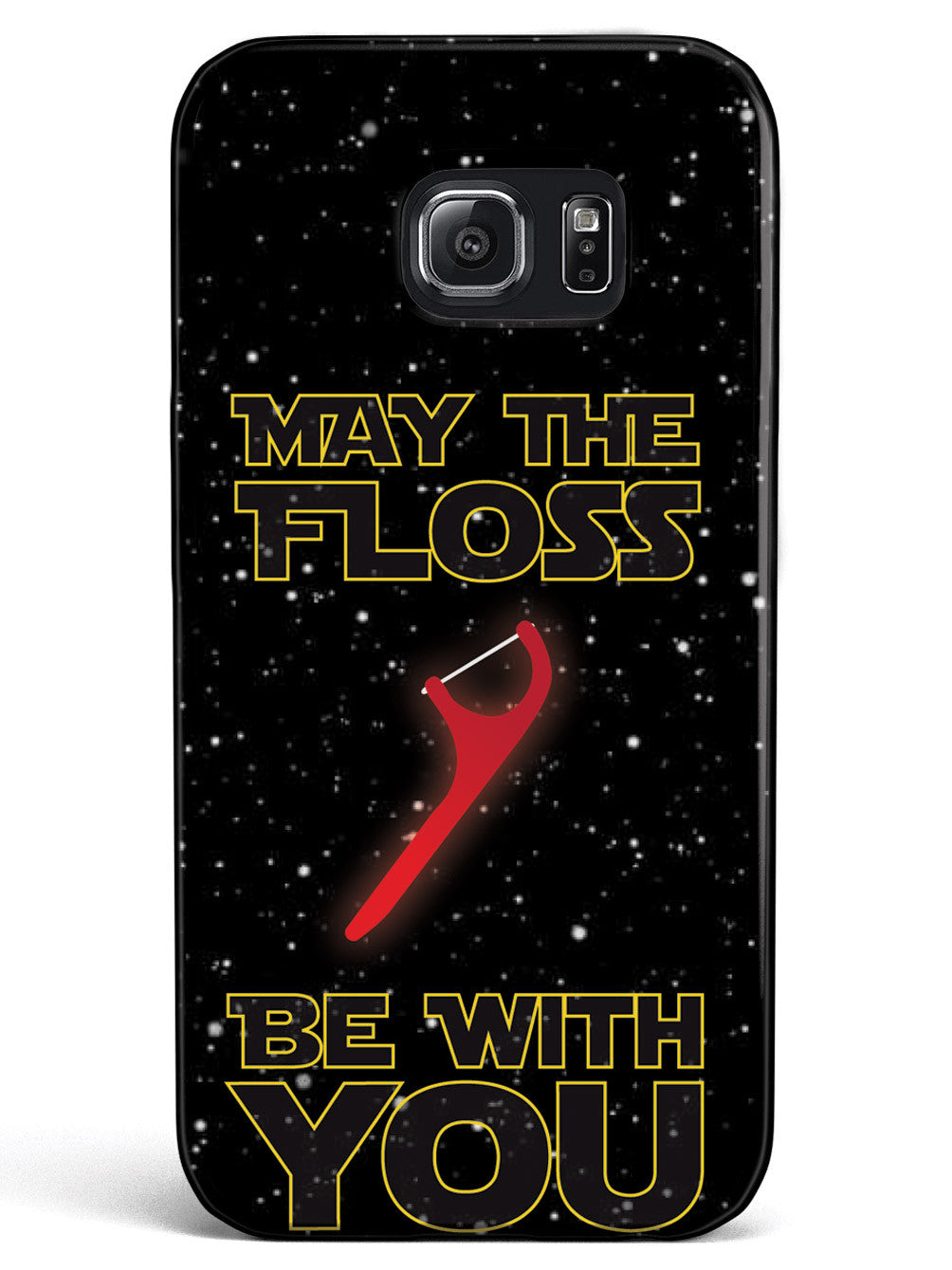 May the Floss Be With You - Dental Hygienist Case